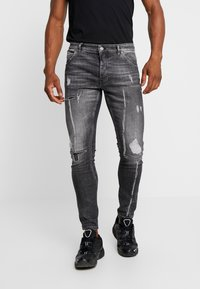 Tigha - BILLY THE KID - Slim fit jeans - mid grey - 0