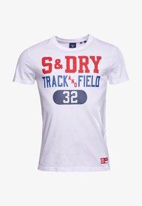 Superdry - Print T-shirt - brilliant white - 3