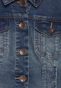 PULZ - Denim jacket - blue denim - 5