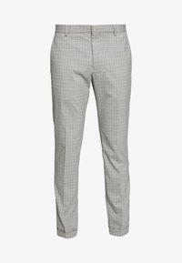 SEMI PLAIN - Suit trousers - grey
