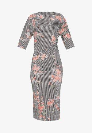 THIGH DRESS - Jersey dress - multi