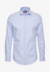 Seidensticker - SLIM SPREAD KENT PATCH - Overhemd - hellblau - 4