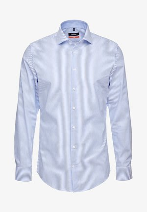 SLIM SPREAD KENT PATCH - Shirt - hellblau