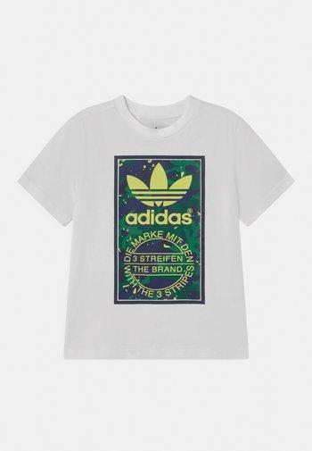 TEE UNISEX - Print T-shirt - white