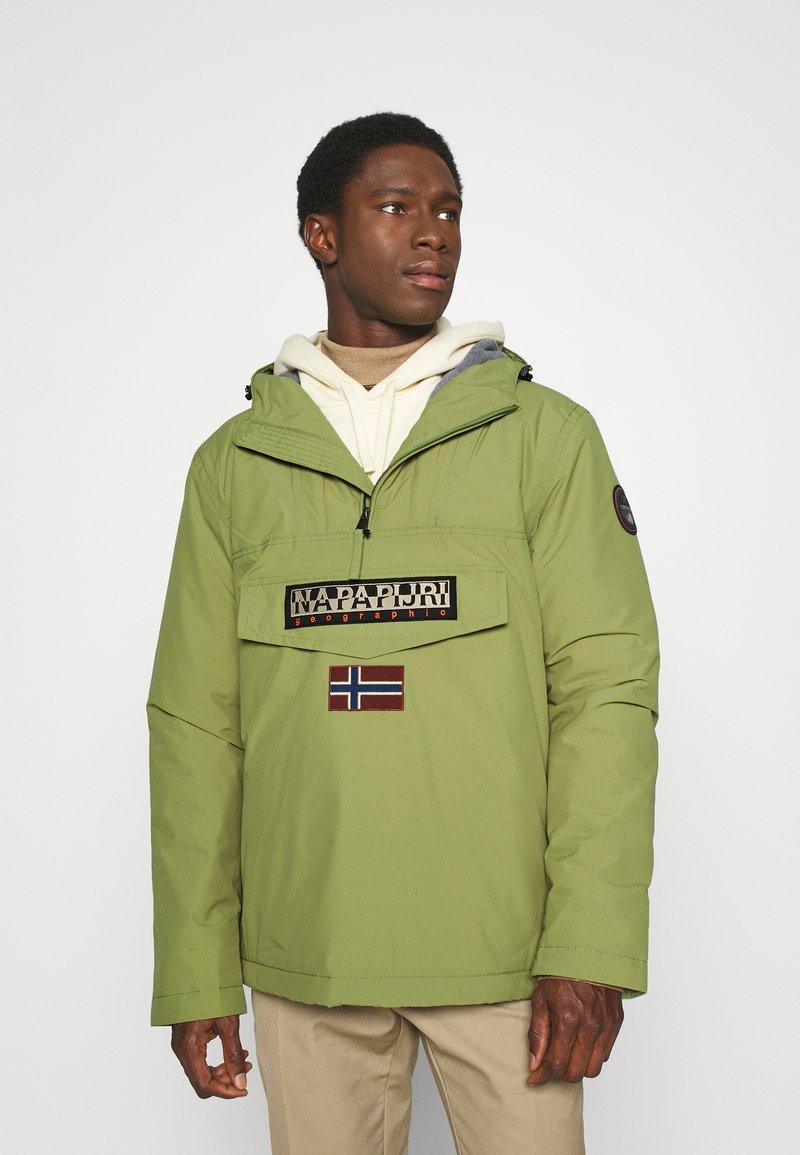 Napapijri - RAINFOREST WINTER - Light jacket - green mosstone