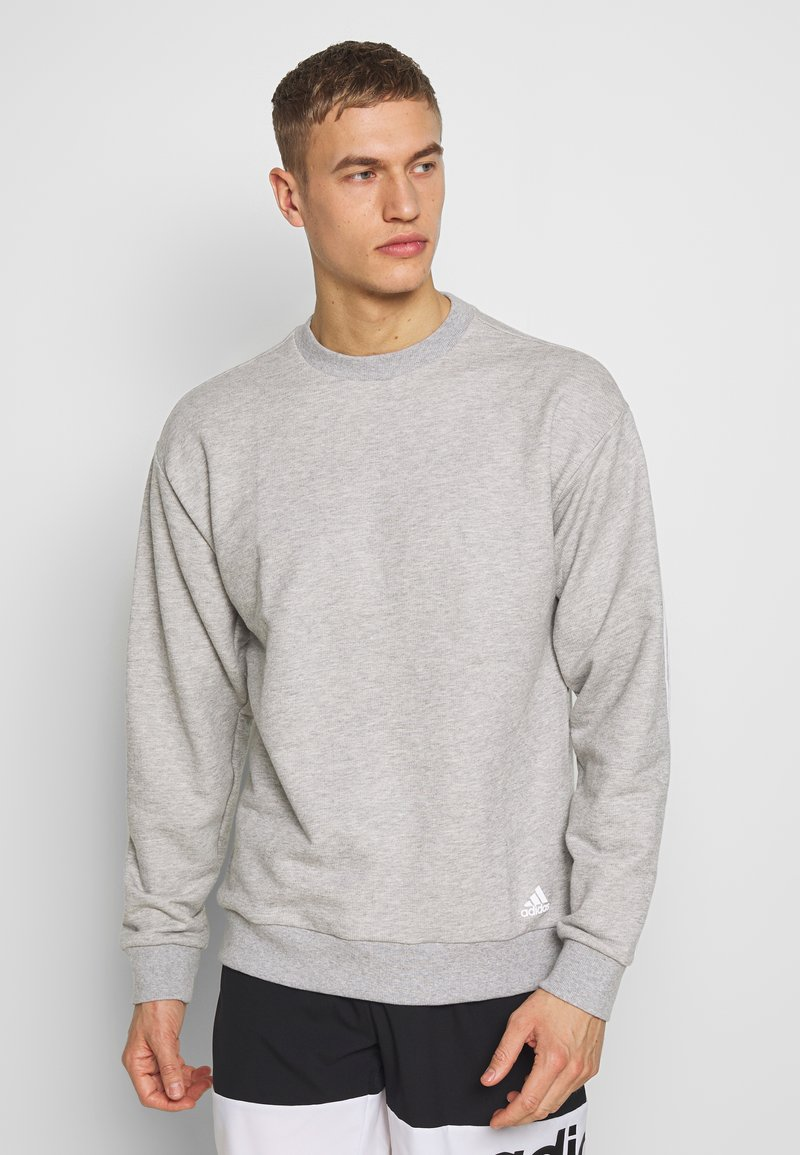 adidas Performance - Sweatshirts - mgreyh/white