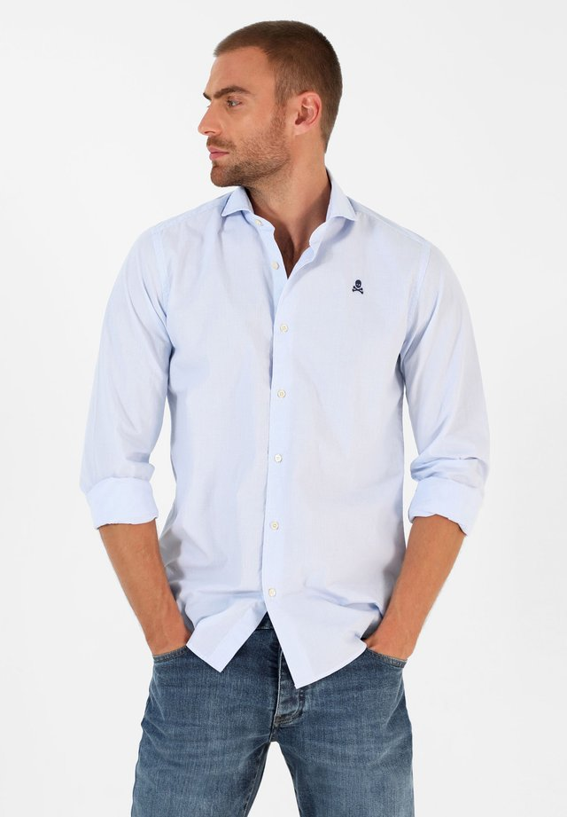 Shirt - skyblue check