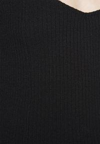 Gina Tricot - EDA - Topper langermet - black - 5