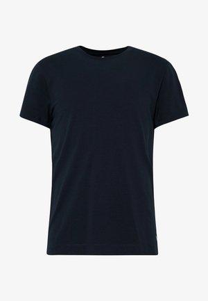 WITH TECHNICAL POCKET - Basic T-shirt - sky captain blue