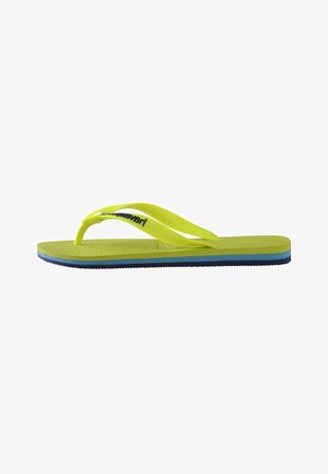BRASIL LAYERS - Pool shoes - yellow