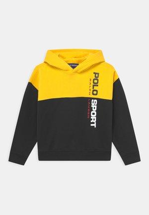 HOOD - Sweatshirt - polo black/racing yellow