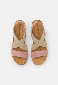 Copenhagen Shoes - STACIA - Sandály na platformě - rose - 5