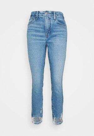 GOOD CURVE CROP - Slim fit jeans - blue