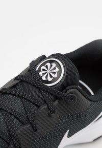 Nike Performance - CITY REP TR - Sports shoes - black/white/dark smoke grey - 5