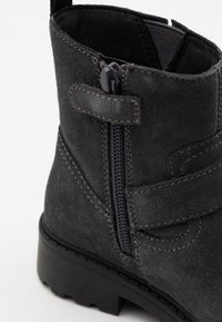 Geox - CASEY GIRL WPF - Stivaletti texani / biker - dark grey