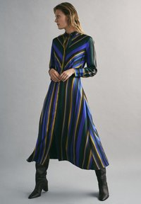Massimo Dutti - MIT STREIFENPRINT - Day dress - blue - 2