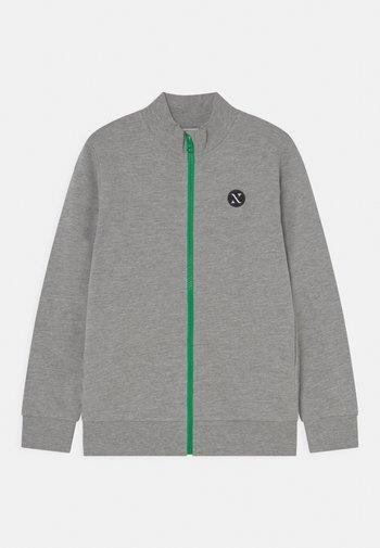 NKNFALKE  - Zip-up sweatshirt - grey melange