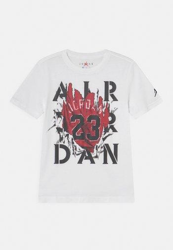 RAGING BULL - Print T-shirt - white