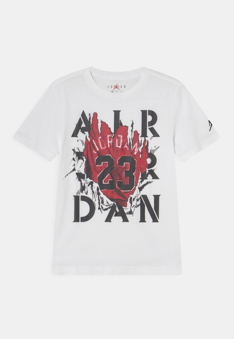 Jordan - RAGING BULL - T-shirt con stampa - white