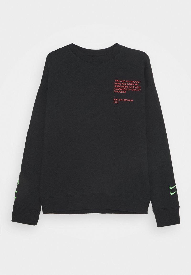 Nike Sportswear - CREW - Felpa - black/ember glow