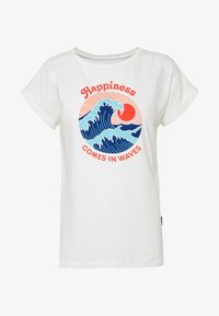 Dedicated - MYSEN HAPPINESS - T-shirt con stampa - offwhite - 3