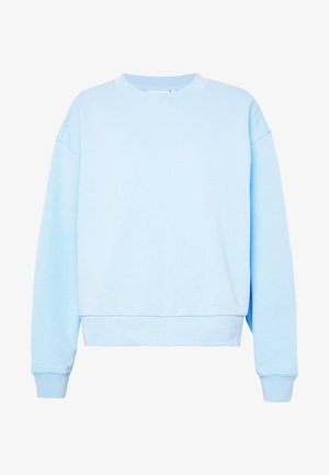 HUGE CROPPED - Bluza - light blue