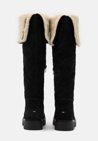 Tommy Jeans - WARM LINED LONG BOOT - Støvler - black - 3