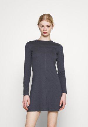 Vestito di maglina - dark grey
