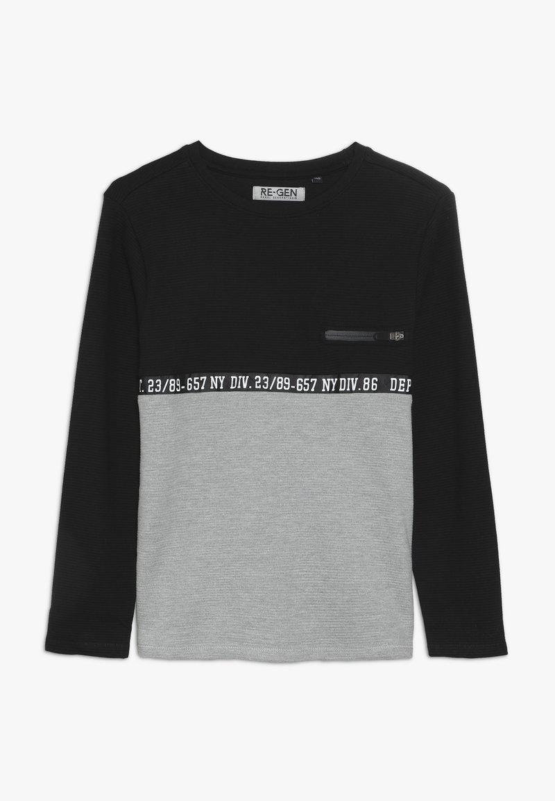 Re-Gen - BOYS LONGSLEEVE - Langærmede T-shirts - black
