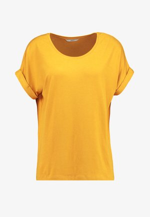 ONLMOSTER O-NECK TOP - Jednoduché triko - golden yellow