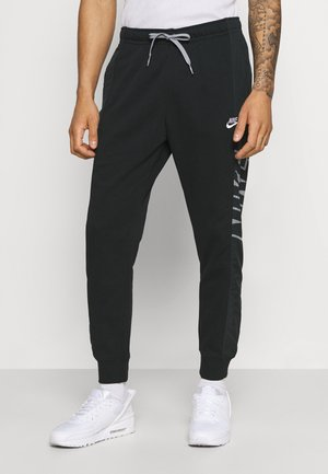 Tracksuit bottoms - black/particle grey/white