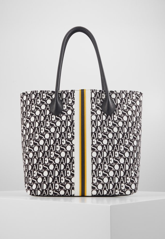 CANVAS SHOPPER - Tote bag - black
