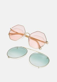 Chloé - Occhiali da sole - gold-coloured/havana/green - 2