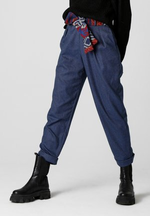 LAURA - Trousers - blau