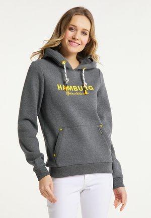 HAMBURG - Hoodie - grau melange