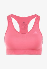 adidas Performance - CLIMACOOL WORKOUT BRA - Sport BH - pink - 5