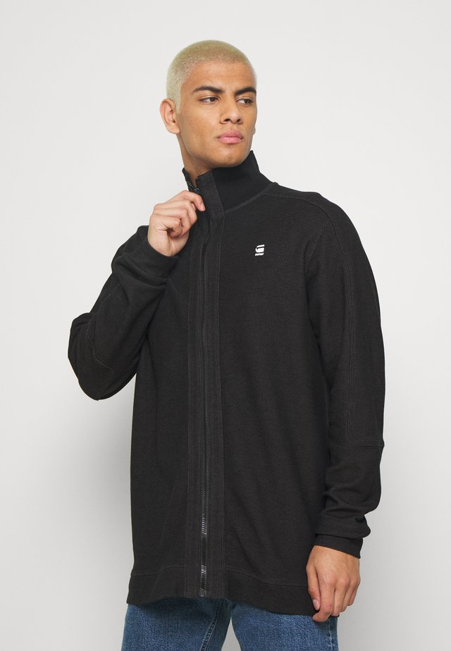 KORPAZ ZIP THROUGH  - Summer jacket - black/shadow
