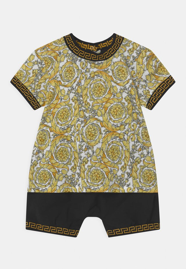 BAROQUE KIDS GREC SET UNISEX - T-shirt print - white/gold/black