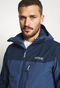 Regatta - WENTWOOD 2-IN-1 - Hardshell jacket - dark blue - 5