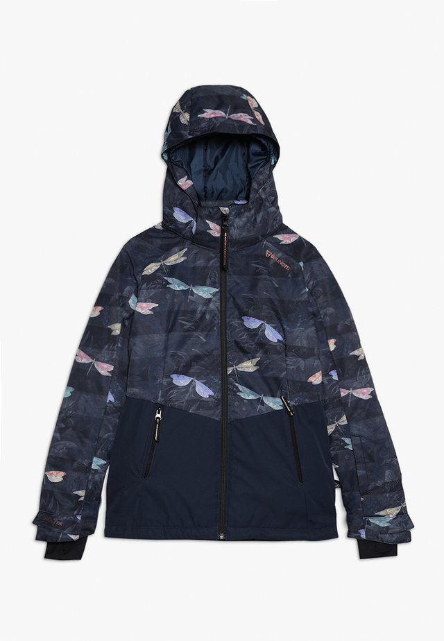 TIGER HERON GIRLS SNOWJACKET - Chaqueta de snowboard - space blue