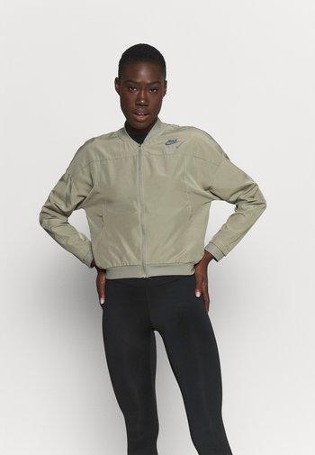AIR JACKET - Sports jacket - light army/black