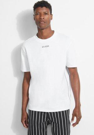 MIT LOGO - Basic T-shirt - hellgrau