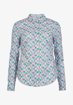 DAS NEW CLASSIC - Button-down blouse - naturweiß, vogelmuster