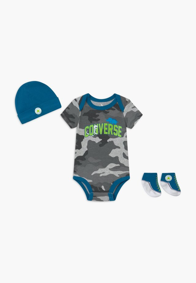 DINOS INFANT SET - Regalo per nascita - sail blue