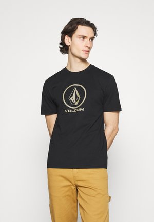 CRISP STONE BSC SS - Print T-shirt - black