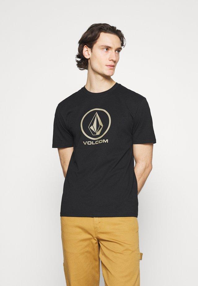 CRISP STONE BSC SS - T-shirt imprimé - black