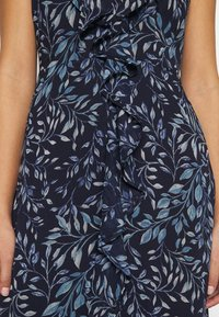 Lauren Ralph Lauren Petite - MARIKA  SLEEVE DAY DRESS - Day dress - navy blue - 3
