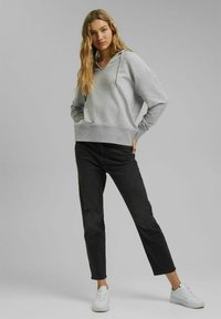 edc by Esprit - RELAXED - Hoodie - medium grey - 1