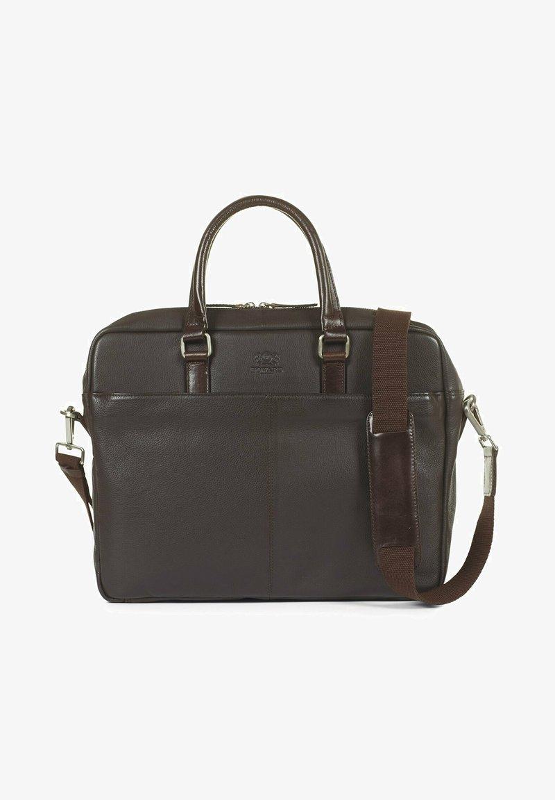 Howard London - Morris Dark Brown - Laptop bag - dark brown