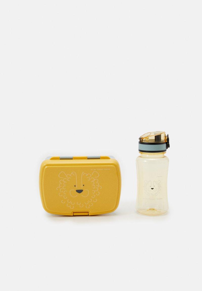 Lässig - LUNCH ABOUT FRIENDS LION SET  - Lunch box - yellow